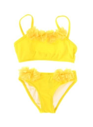 Limon Company Limon Sarı Kız Çocuk Bikini Takım Sarı